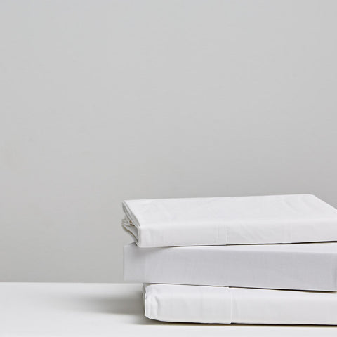 300 Thread Count Cotton Sheets - White