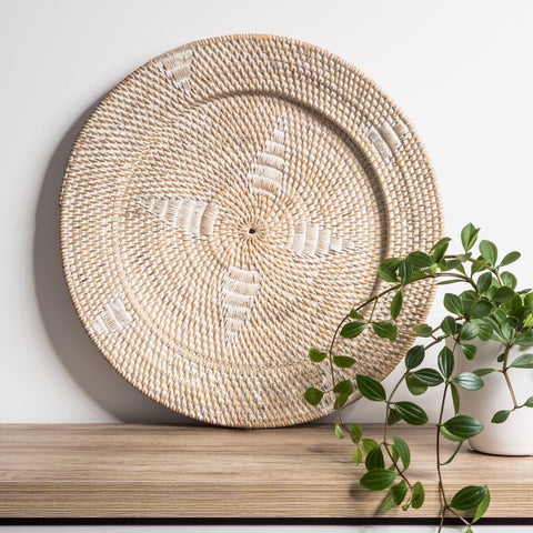 Juju Feather Wall Hanging - Natural