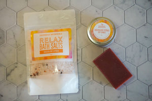 Succulent Citrus Bath Salts