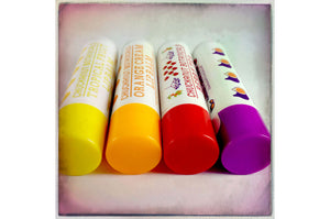 4 Pack Natural Flavored Lip Balm