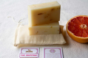 Pink Grapefruit Artisan Soap