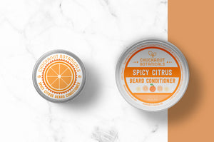 Spicy Citrus Beard Balm 2 ounce