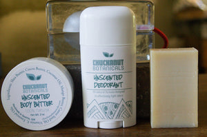 Unscented Body Care Set