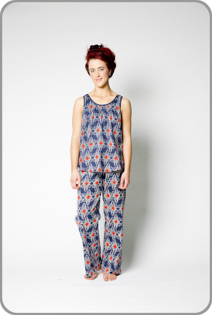 Reuben - Woven Top with Pants Set