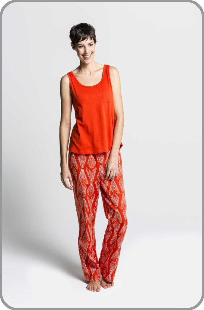 Cicada Pants with Loose Top Set