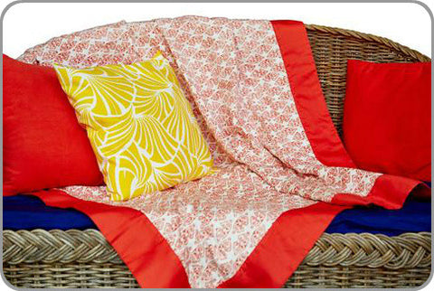 Crabs Galore Single Coverlet