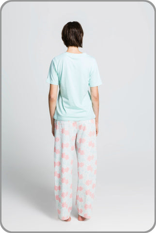 Royal Maquis Pants with Tee Set