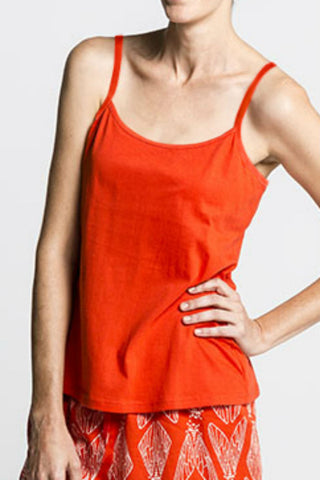 Strappy Top with Hidden support in Red or Navy