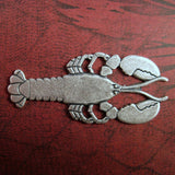 Large Oxidized Silver Lobster (1) - SOS5522