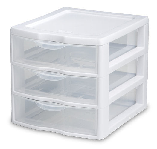 Sterilite Small 3 Drawer Storage