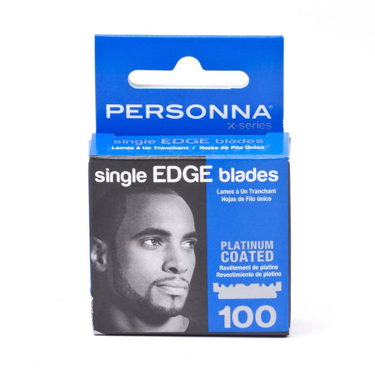 Personna X Series Single Edge Razor Blades 100 Pack