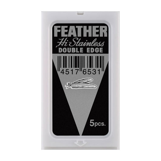 Feather Hi Stainless Double Edge Blades