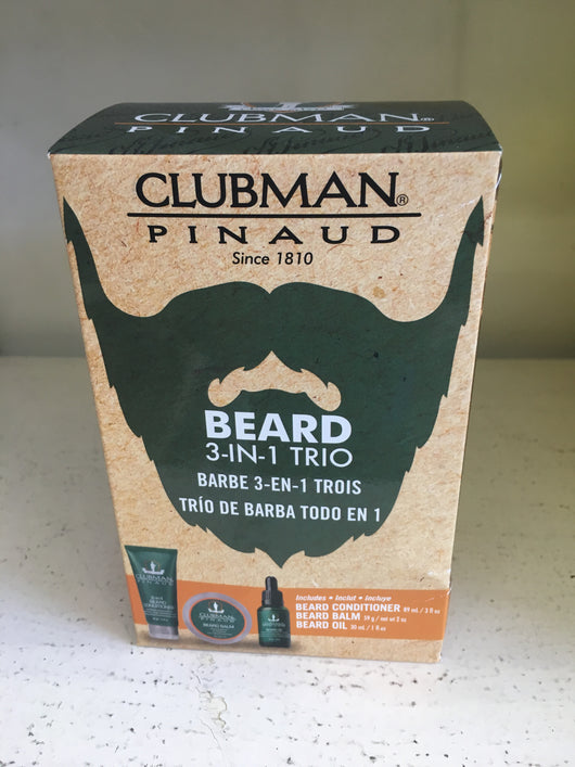 Clubman beard 3 In 1 Trio
