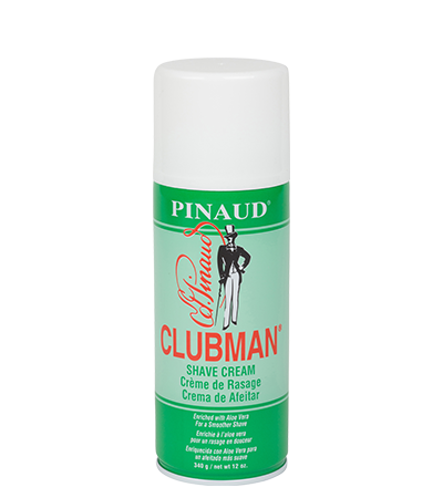 Clubman shave cream can