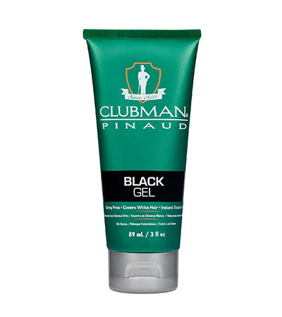 Clubman Hair Gel Color Black