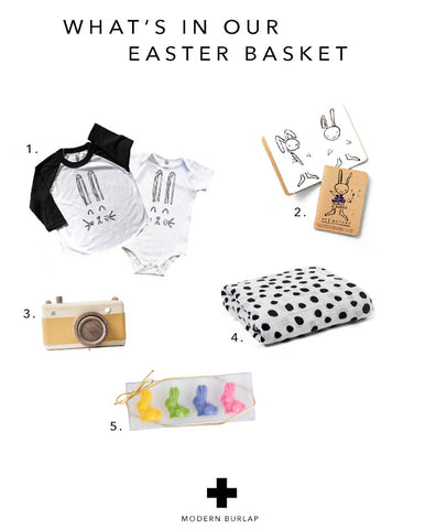 WHAT'S IN OUR EASTER BASKET - MODERN BURLAP BLOG