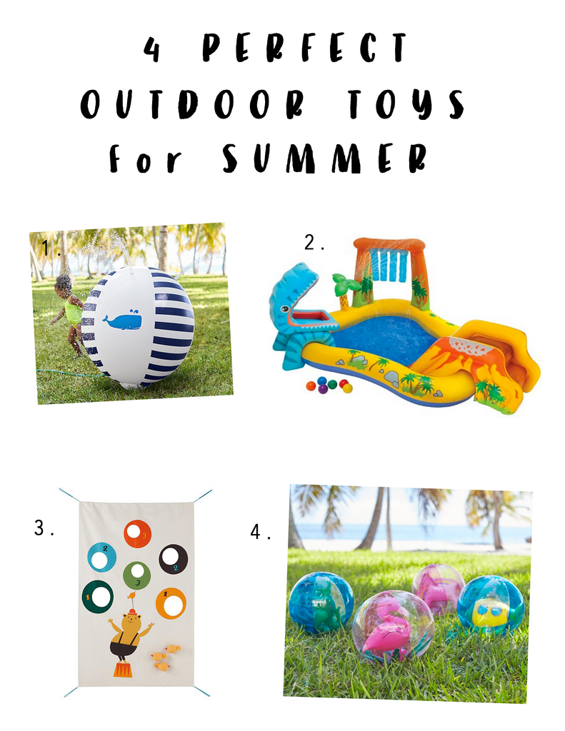 Modern Burlap Blog - 4 Outdoor Toys Perfect for Summer