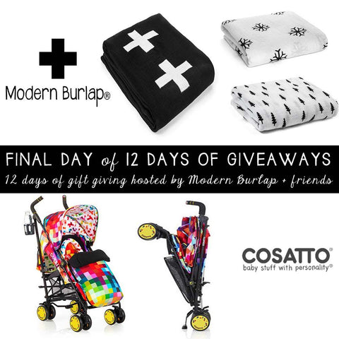 Modern Burlap Cosatto Stroller Giveaway