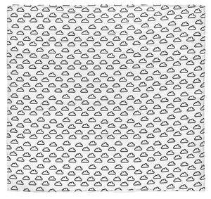Load image into Gallery viewer, Organic Cotton Organic Cotton Muslin Swaddle -  Clouds