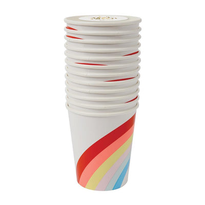 Meri Meri Big Rainbow Cups