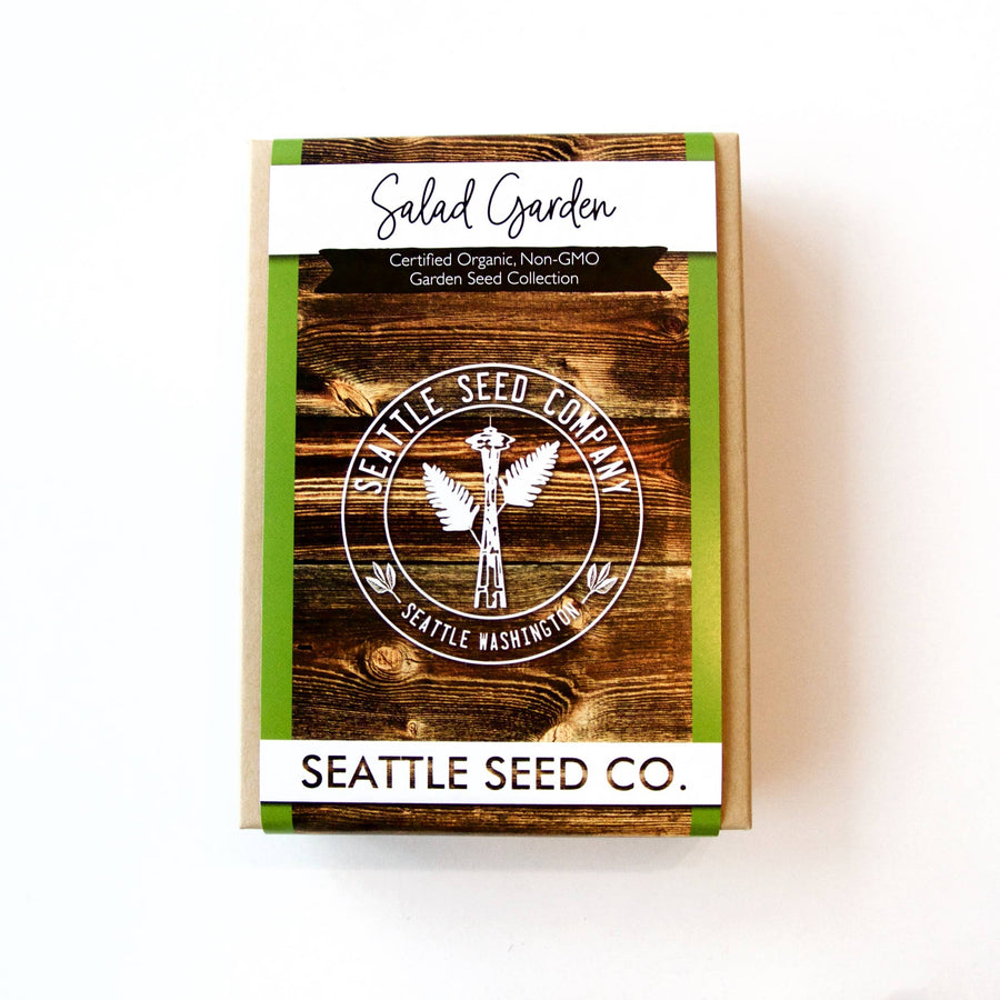 Seattle Seed Co. - Organic Seed Collection - Salad Garden