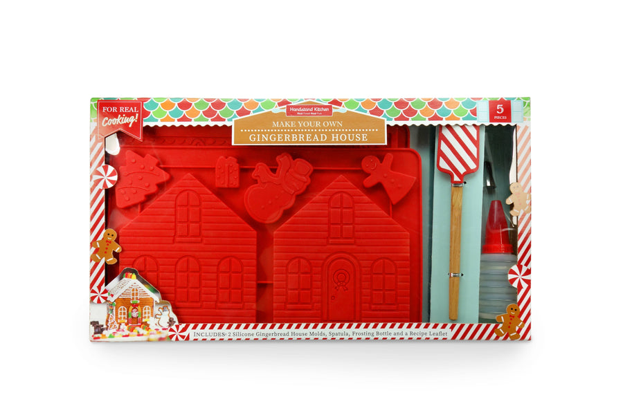 Handstand Kitchen - Make Your Own Gingerbread House Set