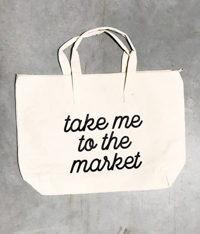 Take Me to the Market - Tote