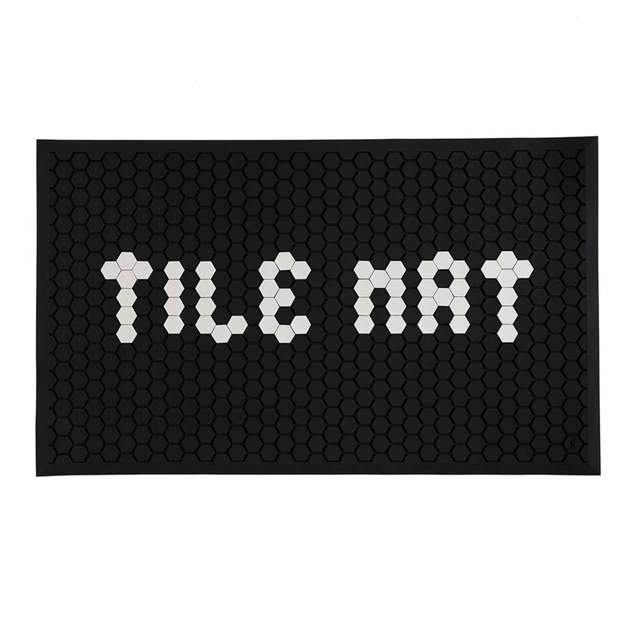Letterfolk - Tile Mat - Black