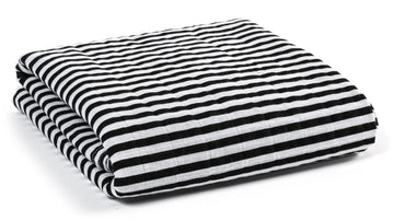 *JUST RESTOCKED* Organic Cotton Muslin Swaddle Blanket -  STRIPES