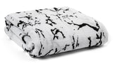 Organic Cotton Muslin Swaddle Blanket - Marble