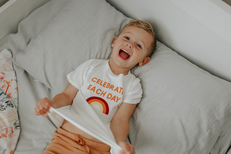 Celebrate Each Day Kid's Crewneck Tee