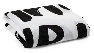 Organic Cotton Muslin Swaddle Blanket -  Matthew 28:20