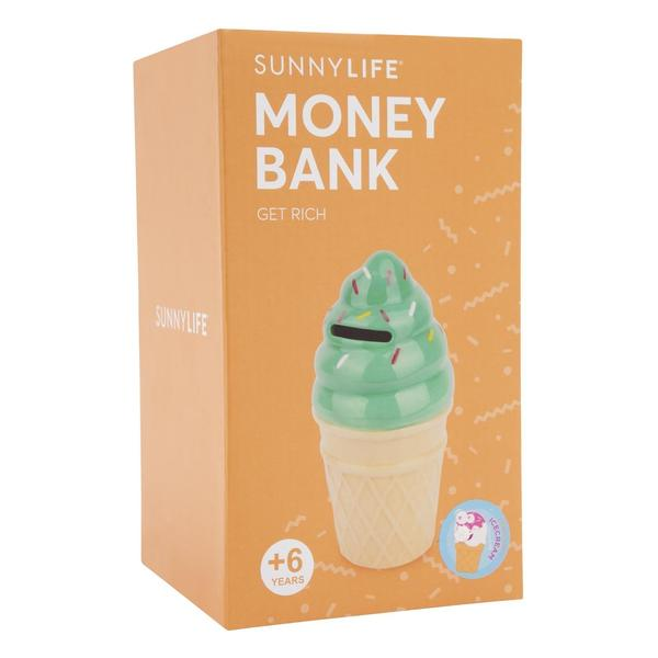 Sunnylife Ice Cream Money Bank