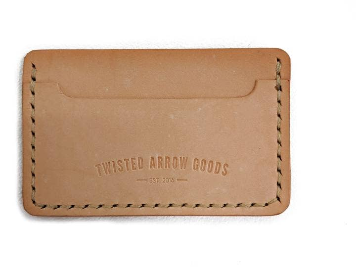 Twisted Arrow Goods - The Benjamin Card Wallet