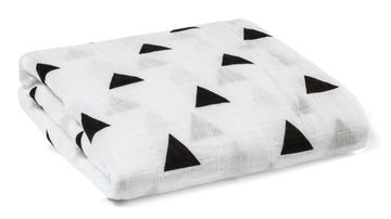 Organic Cotton Organic Cotton Muslin Swaddle Blanket -  TRIANGLES