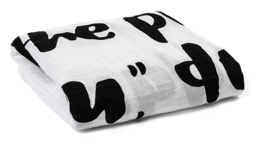 *JUST RESTOCKED* Organic Cotton Muslin Swaddle Blanket+ Wall Art -