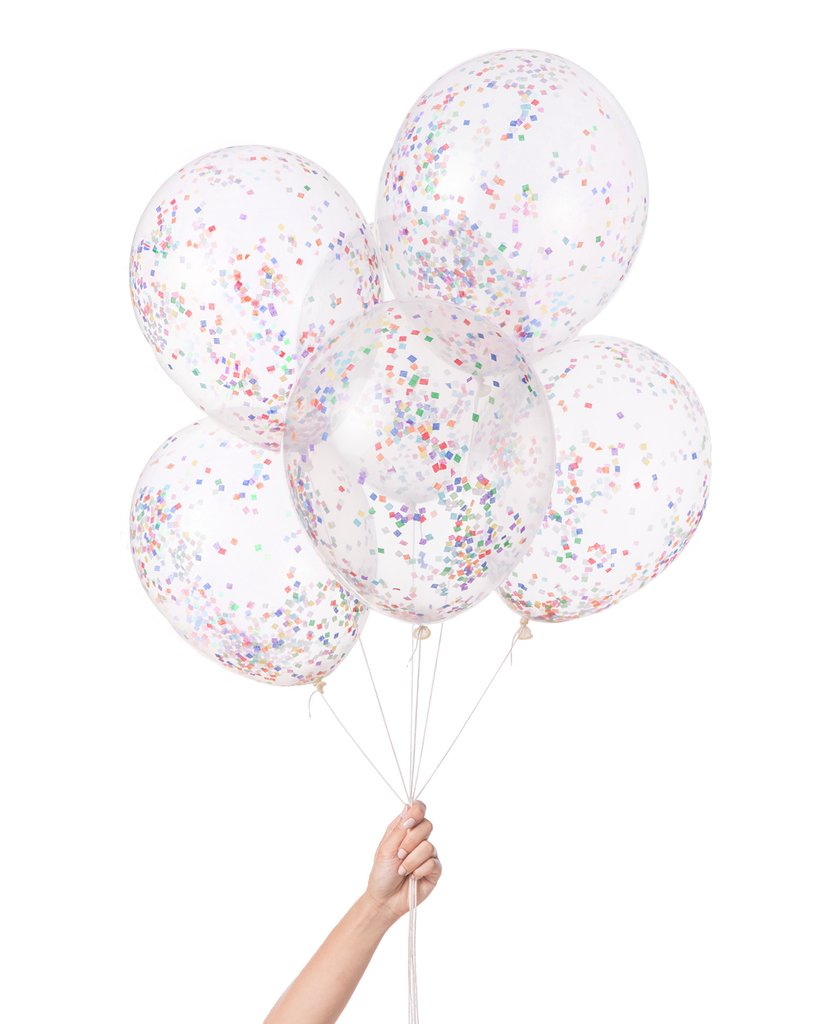 Knot & Bow - Pre - Filled Confetti Ballons