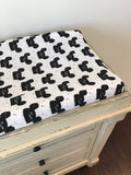 Organic changing pad cover - Modern Mouse