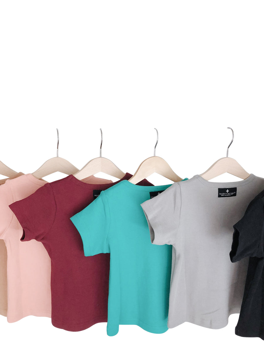 Organic Basic Tee -  Colors