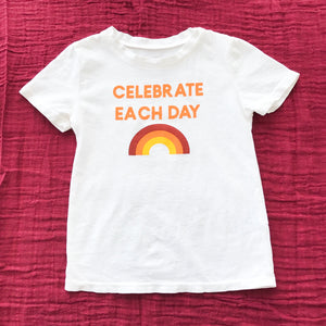 Load image into Gallery viewer, Celebrate Each Day Kid's Crewneck Tee