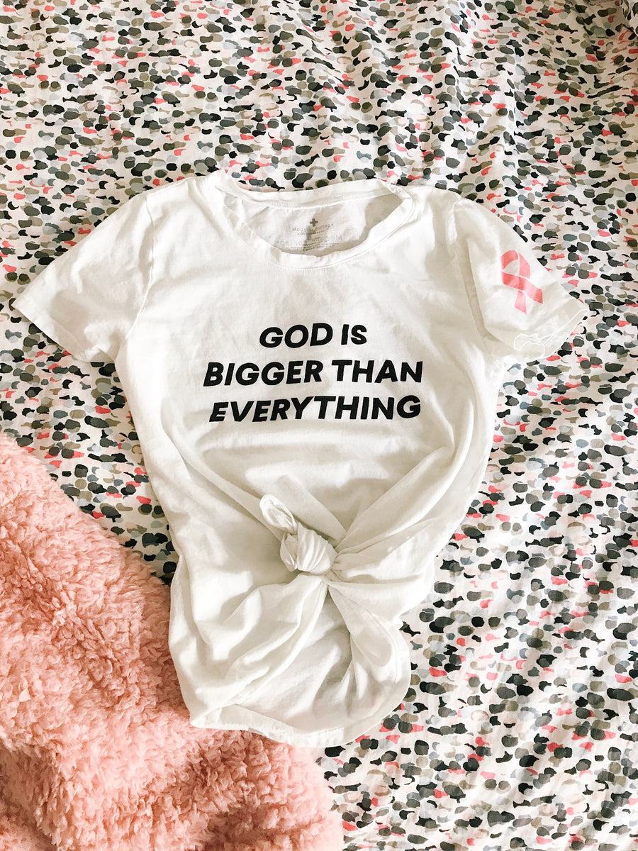 God is bigger than everything Unisex Crewneck Tee