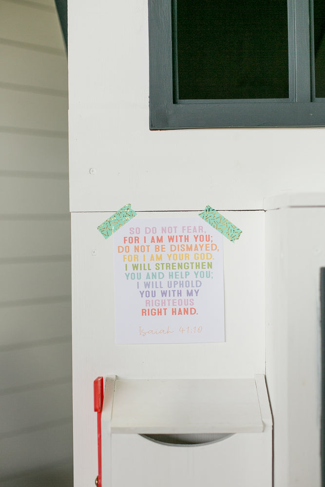 Load image into Gallery viewer, 9 Faith over Fear Do It Yourself Printables | Rainbow Version