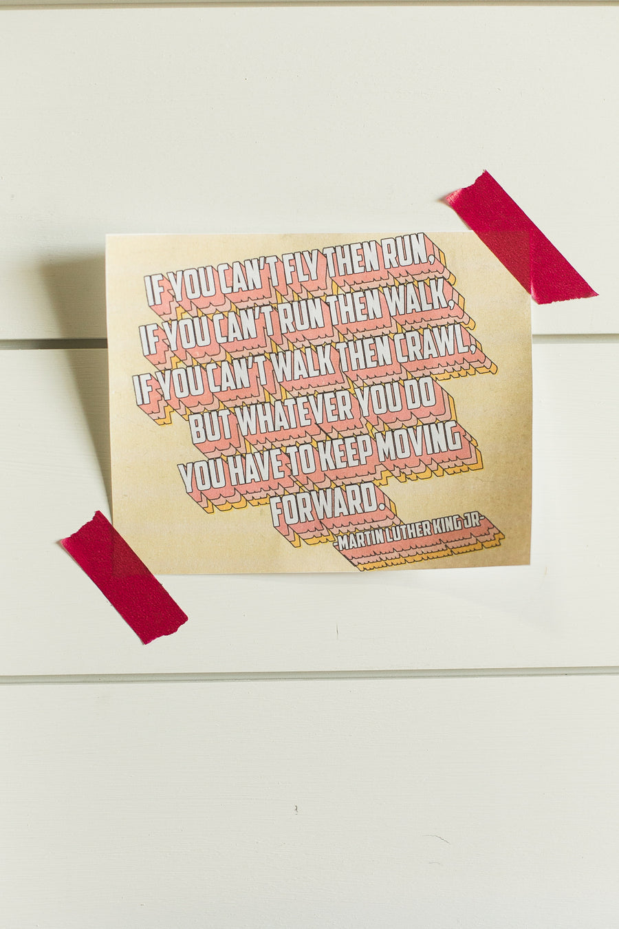 2020 DIY Printable | Martin Luther King Jr quote