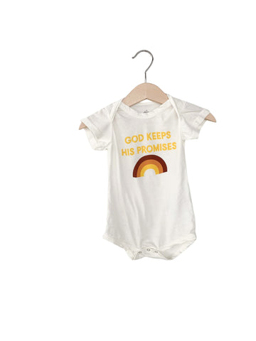 God keeps His promises Onesie