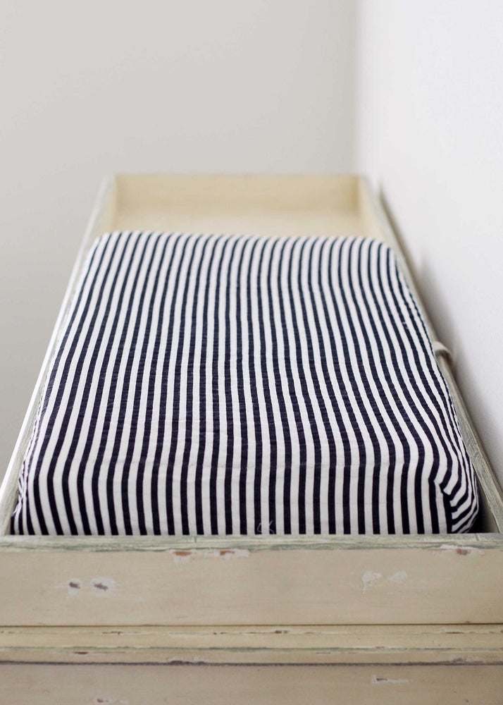 Changing Pad Cover -  Stripe