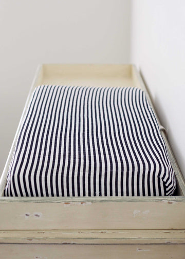 *JUST RESTOCKED* Changing Pad Cover -  Stripe