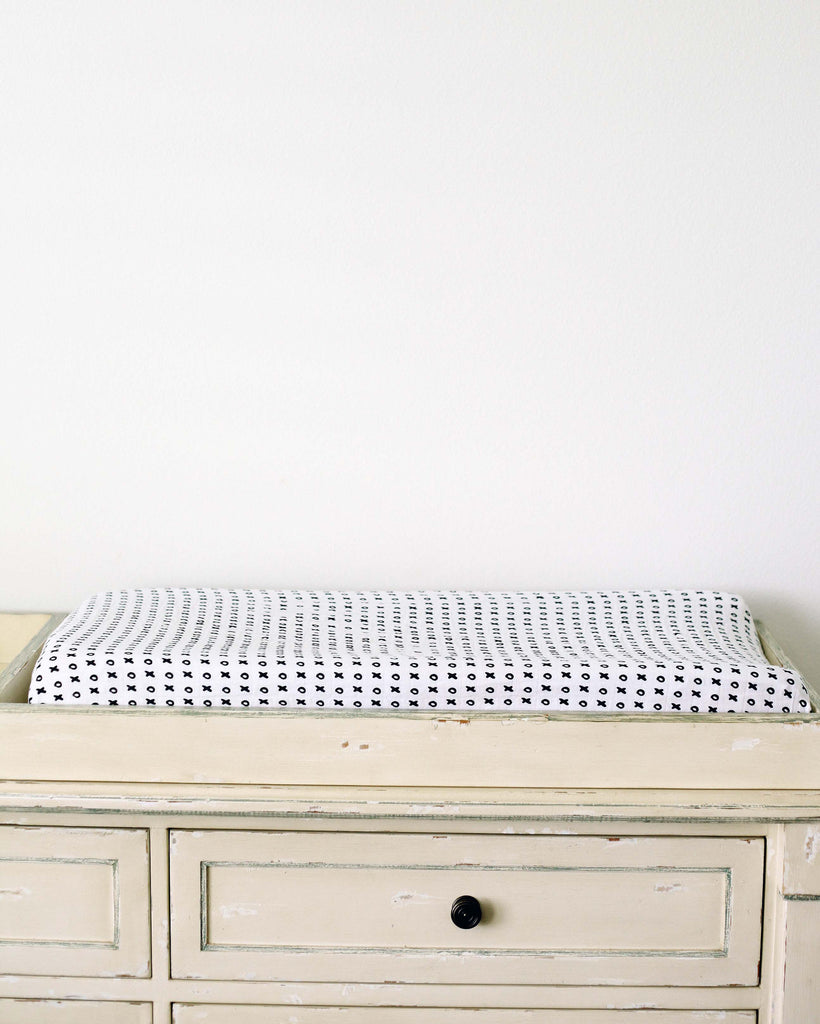 Organic changing pad cover - XO