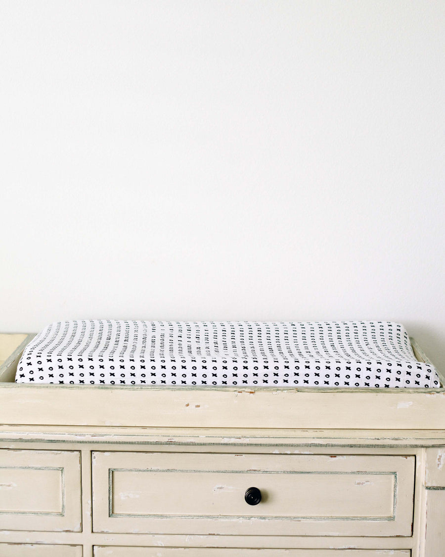 *JUST RESTOCKED* Changing Pad Cover -  XO