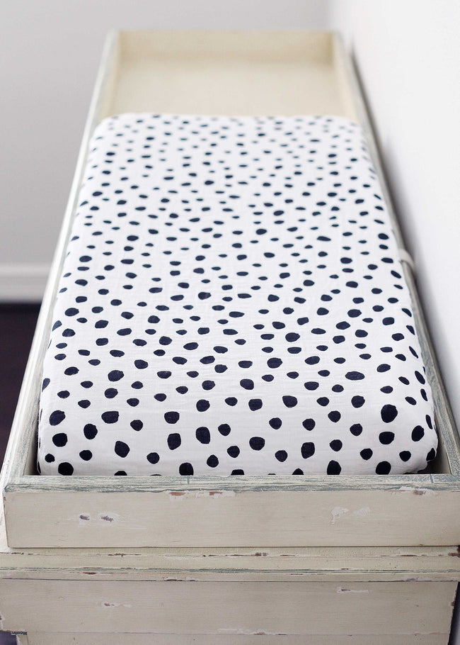Organic changing pad cover - Spots ©