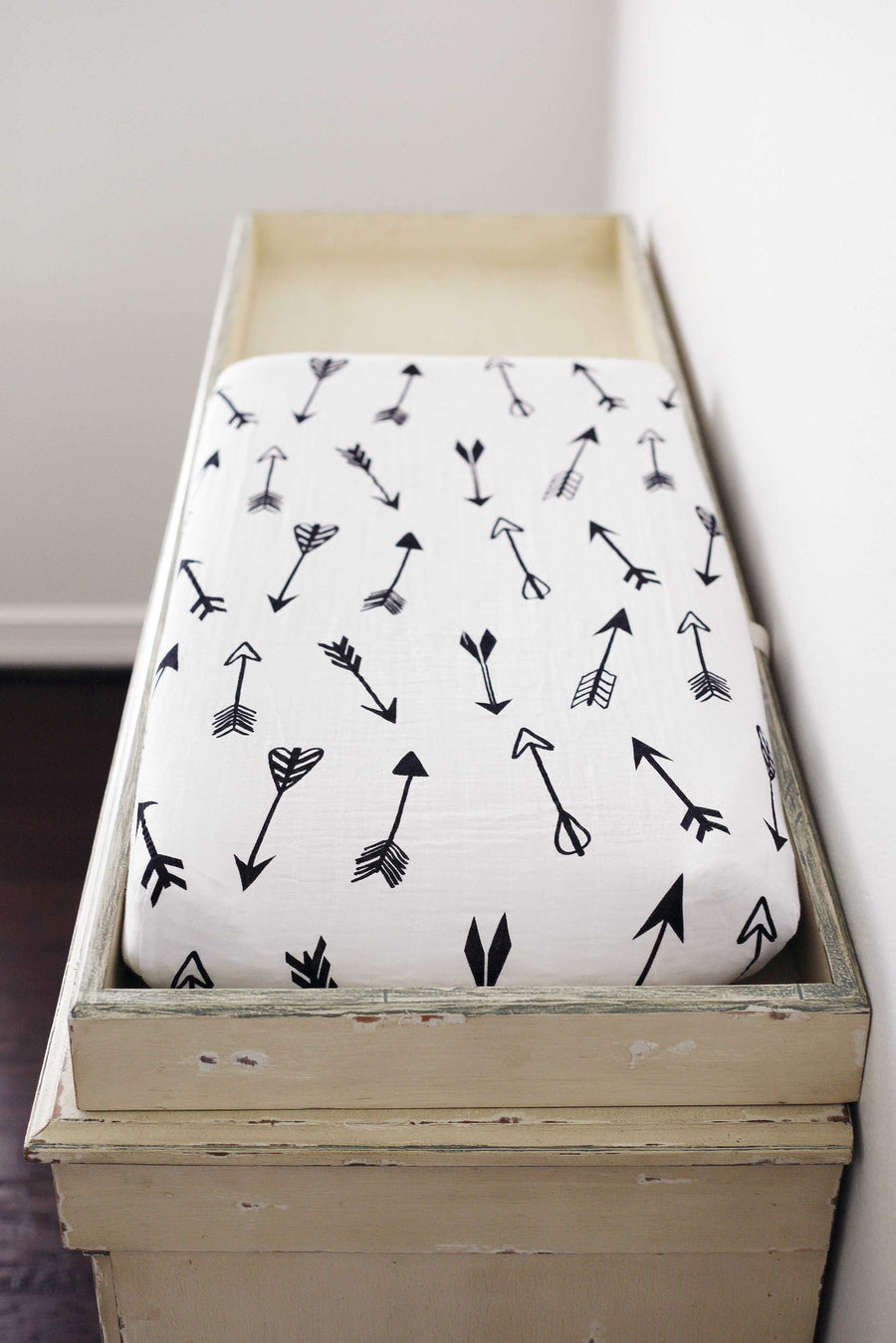 *JUST RESTOCKED* Changing Pad Cover -  Arrows ©